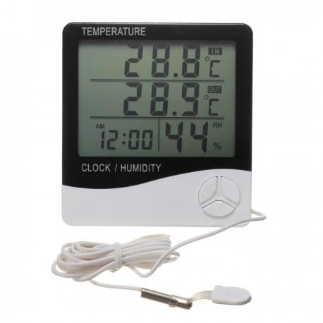 Thermomètre Hygromètre Chambre de Culture
