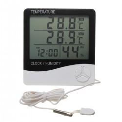 Thermomètre Hygromètre 2 capteurs avec sonde
