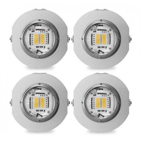 Pack LED Horticole WhiteRay™ 2021 130cm*130cm Croissance + Floraison