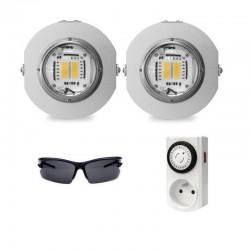 Pack LED Horticole prêt à l'emploi 90*90cm 2021
